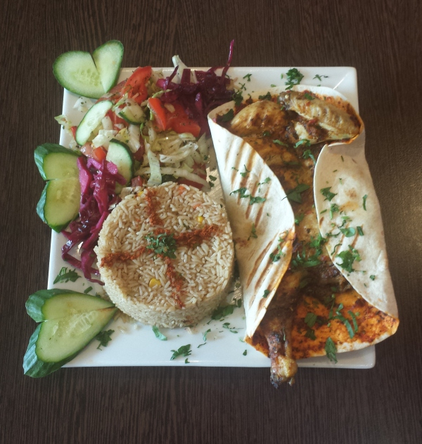 a quick look at some of the dishes on offer - Lebanese Kitchen